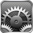 iPad2の設定アイコン