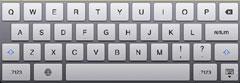 iPad2 日本語ローマ字(入力)