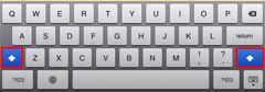 iPad2でのキャプスロック