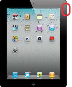 iPad2 ロックスイッチ[正面から]